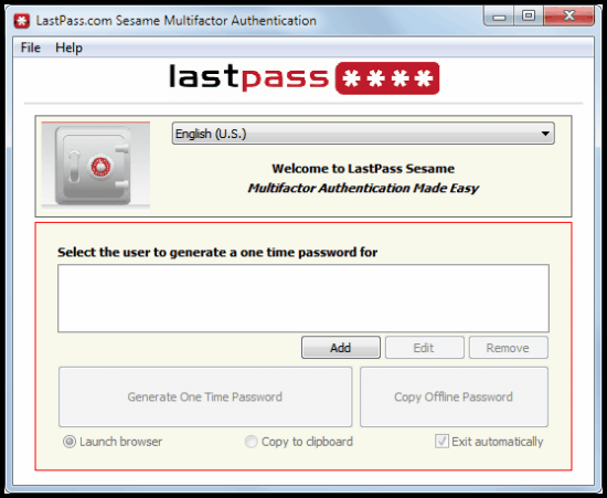last pass 2 factor authentication