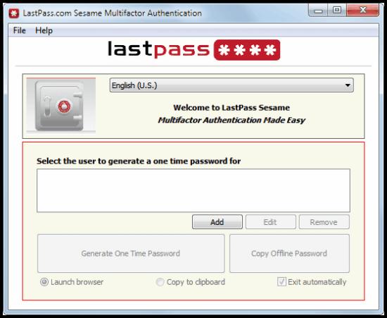 last pass 2 factor authentication