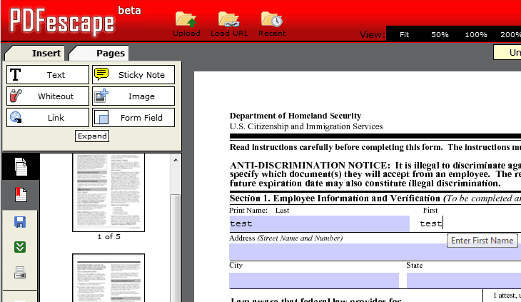 how to fill out pdf forms on your computer ghacks tech news