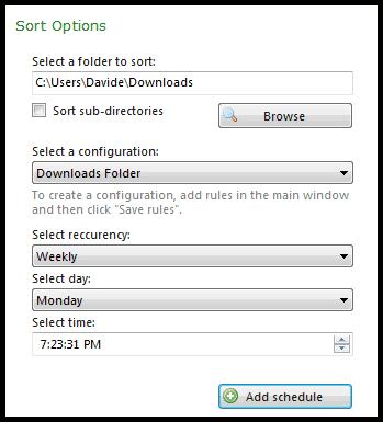 program scheduler