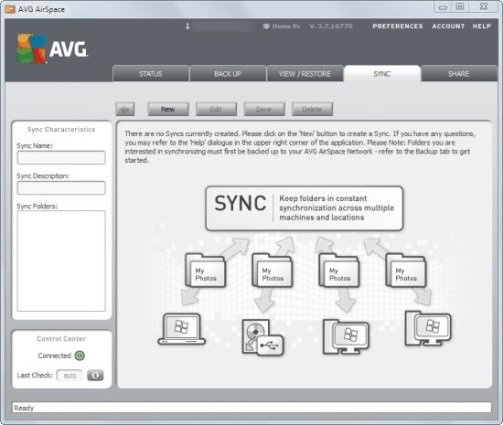 sync files