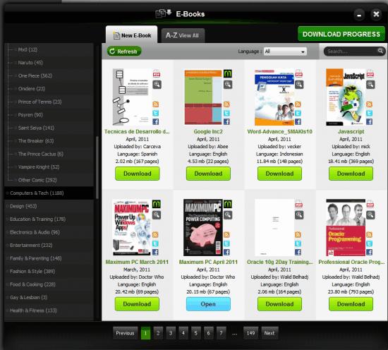 download e-books