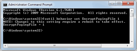 how to encrypt a file on windows