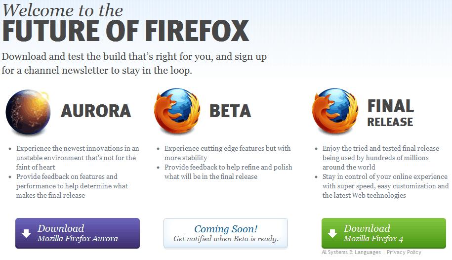 firefox channels download