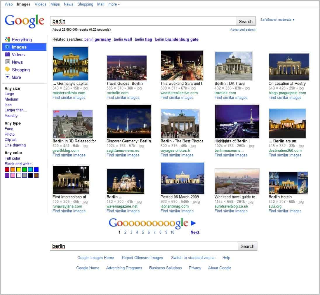 Google Search: Google Image Basic Userscript Redirects To Google's Old