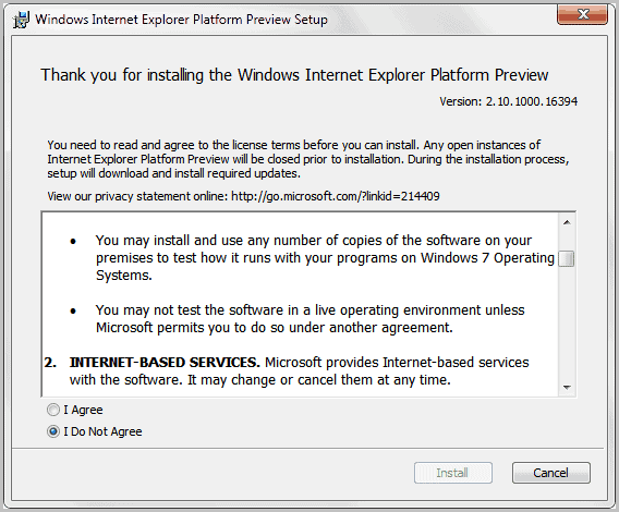 internet explorer xp download 10