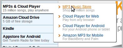 mp3 music store