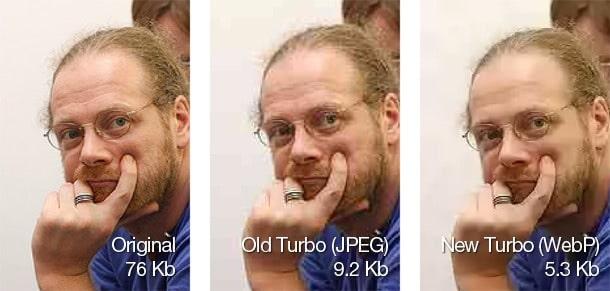 opera turbo comparison
