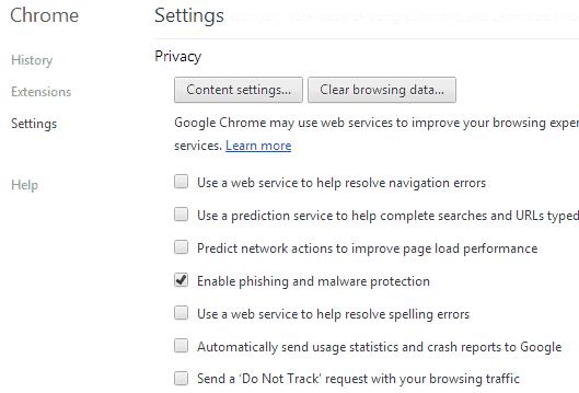 automatically send crash reports to google