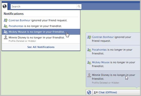 friendlist removed