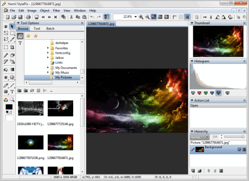 hornil stylepix image editor
