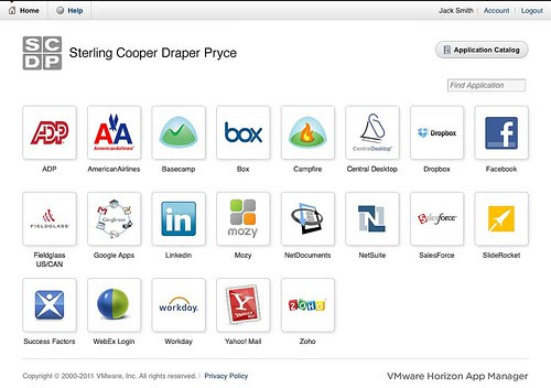 vmware horizon application manager