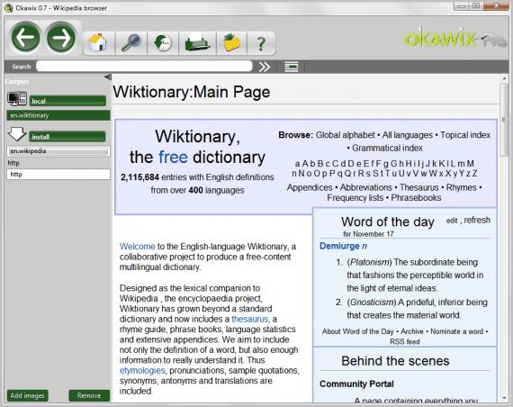 wikipedia browser