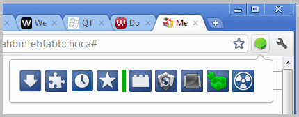 chrome mega button