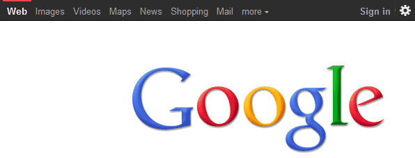 google black nav
