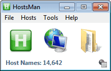 hosts file manager