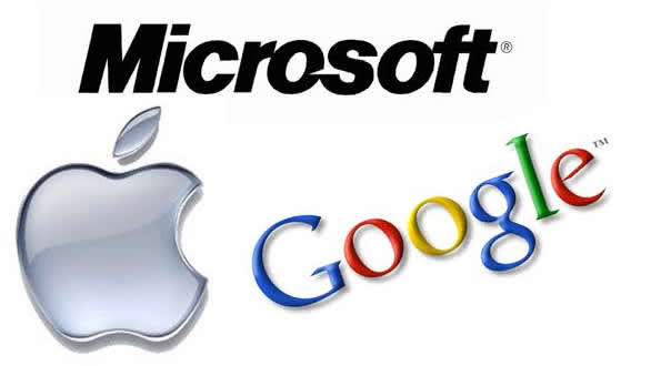 company google microsoft apple