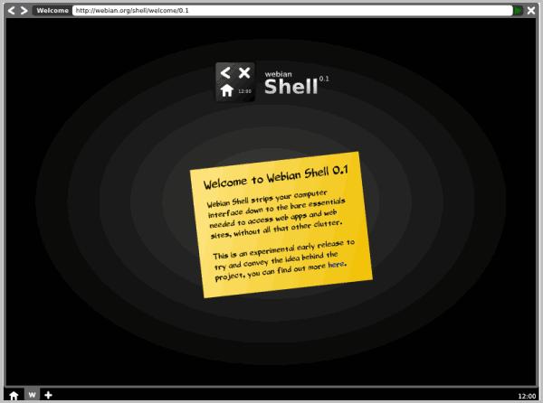 webian shell