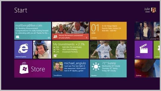 windows 8 video still interface