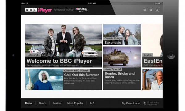 bbc worldwide ipad iplayer app
