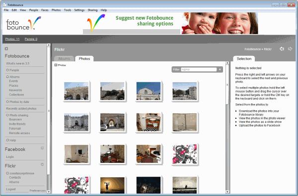 fotobounce flickr facebook photo download