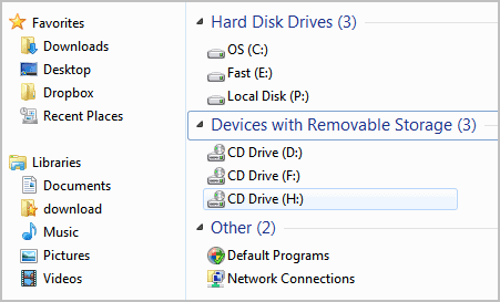 my computer links