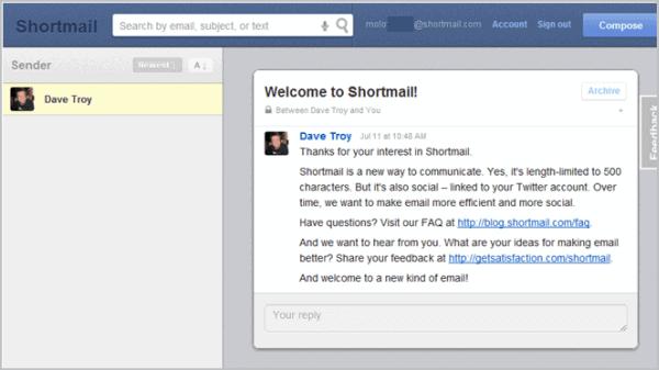 shortmail