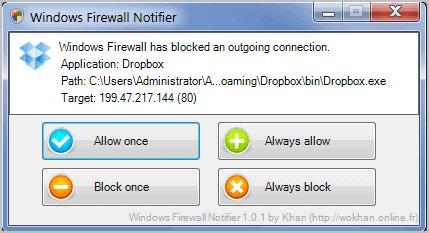 wokhan windows firewall notifier