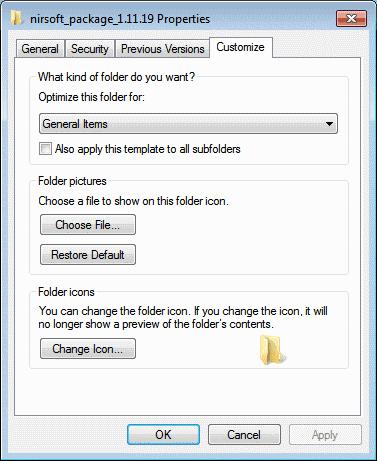 customize folder icon