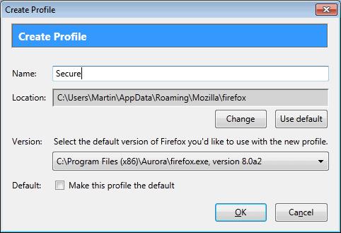 firefox profile
