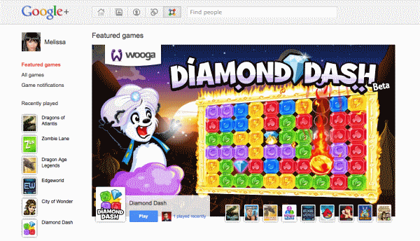 games in google+