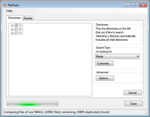 nodupe-duplicate-file-finder