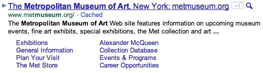 old-google-sitelinks