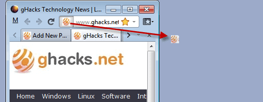 website shortcut