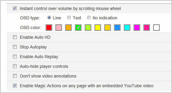 youtube extension