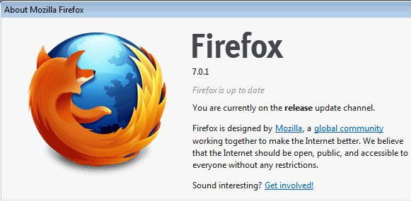 firefox 7.0.1
