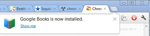 chrome apps installation