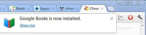 chrome apps installation
