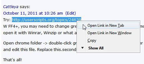 firefox open plain text link