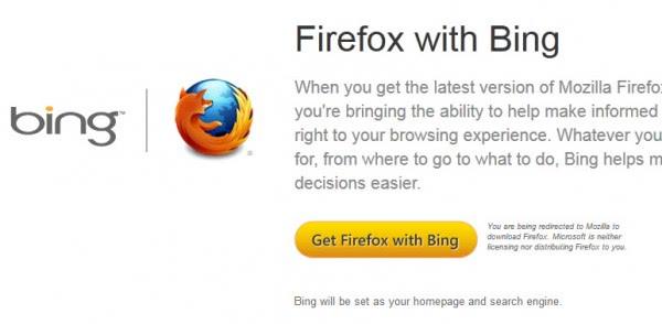 Alternate Firefox Ships With Bing, Big Deal? - gHacks Tech News