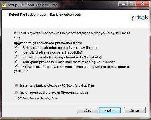 pc tools antivirus free setup