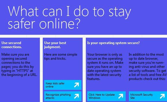 safer online