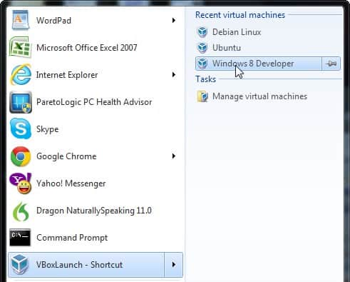 virtual machines virtualbox