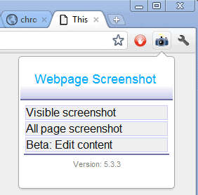 webpage screenshot