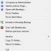 windows explorer context menu