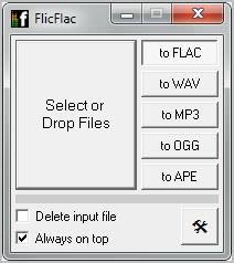 convert audio files