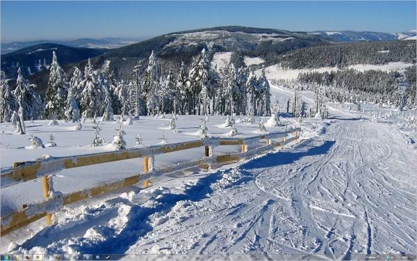 czech winter theme