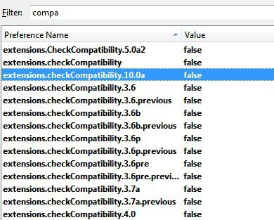 extension checkcompatibility