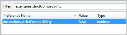extensions strict compatibility