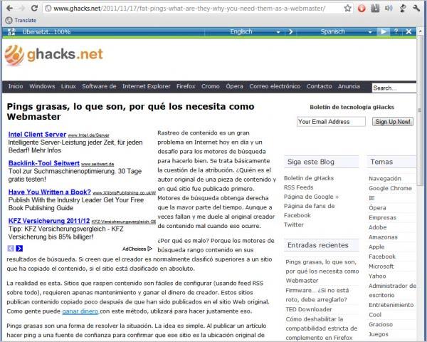 microsoft translator bookmarklet